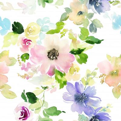 Akvarelltanfolyam - Virágfestés