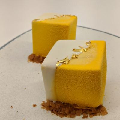 Gluténmentes mini mousse - Francia monodesszert-tanfolyam