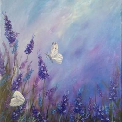 Élményfestés-pillangók